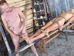 Woot Milking With A Strapped Up Boy - Xavier Sibley & Sean Taylor
