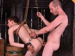 Alex gets his super-hot tiny fuckhole nailed fluster immutable and gummy by sans a condom chav twink Sean in this 4K session.