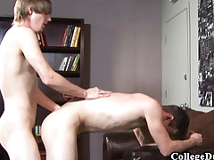 College Studs - Cody drills Spencer Stone